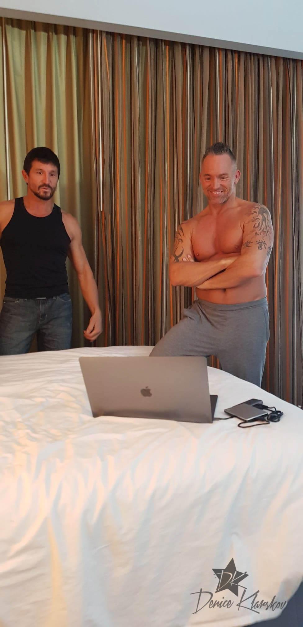 Marcus London og Tommy Gunn